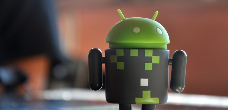 Toy Android robot